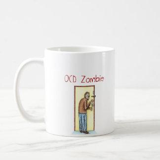 OCD Zombie Classic White Coffee Mug