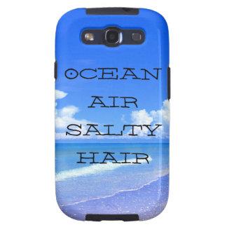 Ocean Air Salty Hair Galaxy S3 Cover