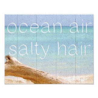 Ocean Air Salty Hair Art Photo
