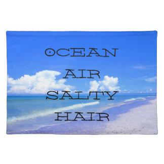 Ocean Air Salty Hair Placemats