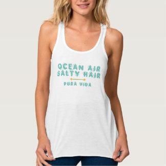 Ocean Air Salty Hair Pura Vida Tank | Teal