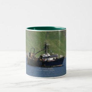Ocean Alaska, Factory Trawler in Dutch Harbor, AK Mug