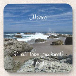 Ocean Alive; Mexico Souvenir Drink Coaster