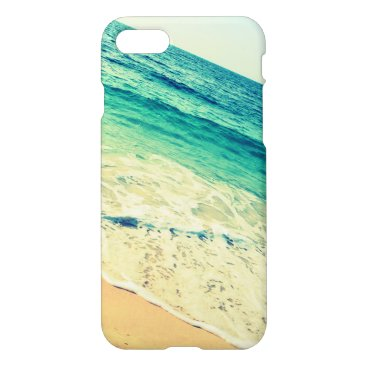 Beach Themed Ocean and Aqua iPhone 7 Case