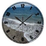 Ocean and Beach Scene Clocks