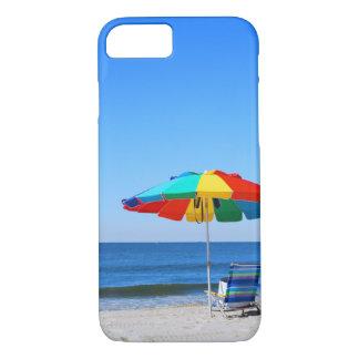 Ocean and beach scene iPhone 7 case