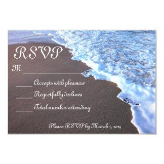Ocean and Beach Theme Card