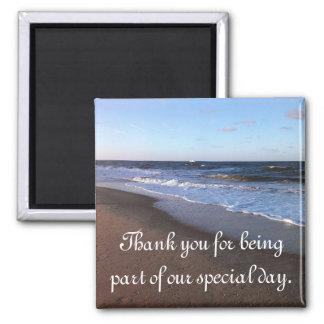 Ocean and Beach Theme Magnet