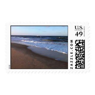 Ocean and Beach Theme Postage