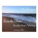 Ocean and Beach Theme Postcard