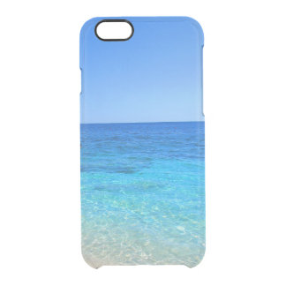 Ocean and beach tropical wanderlust travel hipster clear iPhone 6/6S case