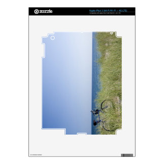 Ocean and horizon with clear blue sky decal for iPad 3