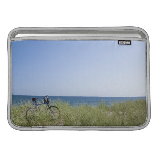 Ocean and horizon with clear blue sky sleeve for MacBook air