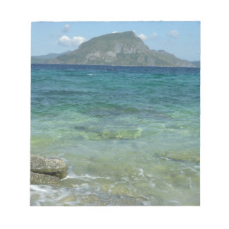 Ocean and Mountain Scenery Notepad
