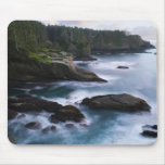 Ocean and rocky shore of remote area 2 mouse pad