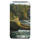 Ocean and rocky shore of remote area iPod touch cases