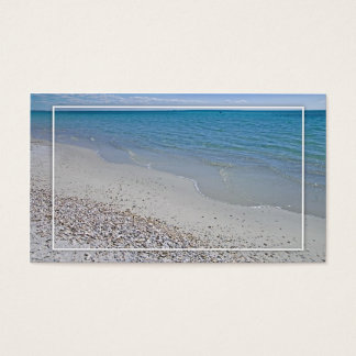 Ocean and Sea Shells Business Card