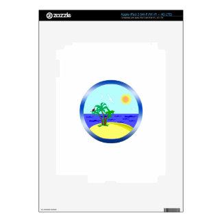 Ocean and sunlight iPad 3 decals