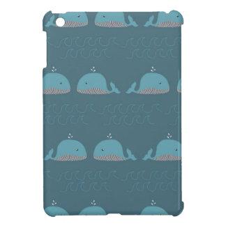 Ocean and Whale Print iPad Mini Cases