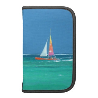 Ocean and Yacht Vacation Folio Planner