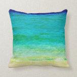 Ocean Aqua Pillow