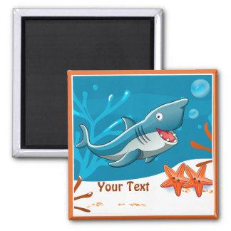 Ocean Aquatic Cute Shark Custom Magnet