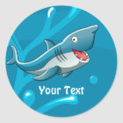 Ocean Aquatic Cute Shark Custom Sticker