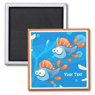 Ocean Aquatic Funny Fish Custom Magnet