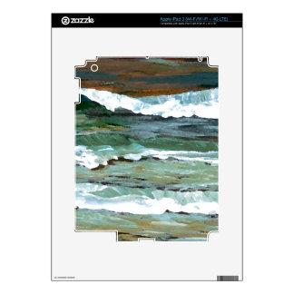 Ocean Art Skin For iPad 3