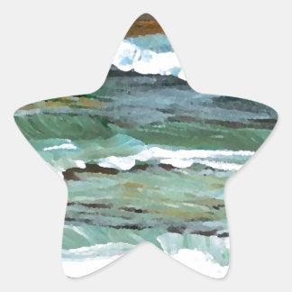 Ocean Art Star Sticker