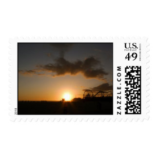 Ocean Avenue Postage Stamps