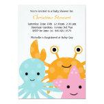 Ocean Baby Shower Invitation