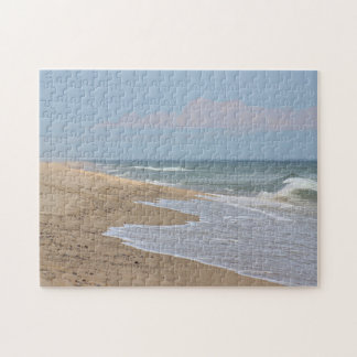 Ocean beach and waves puzzle