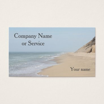 Beach Themed Ocean Beach Business Card