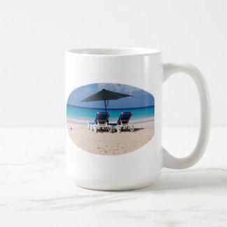 Ocean Beach Date Classic White Coffee Mug