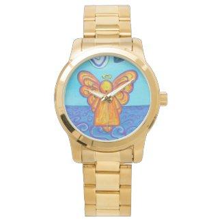 Ocean Beach Guardian Angel Custom Art Watch Design