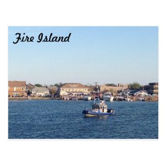 Ocean Beach, NY Postcard