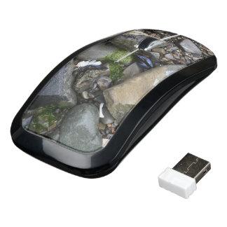 Ocean Beach Rocks Wireless Mouse