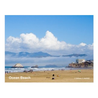 Ocean Beach San Francisco California Products Postcard