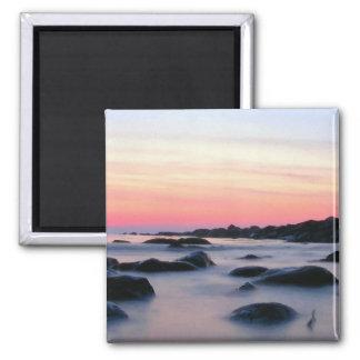 Ocean Beach Sunset Magnet