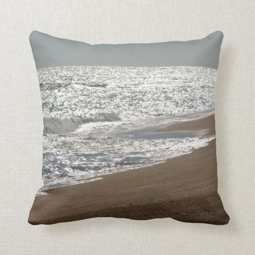 Ocean Beach Themed Throw Pillow Zazzle