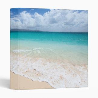 Ocean beach vinyl binder