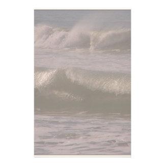 Ocean Beach Wave Sea California Coast Stationery