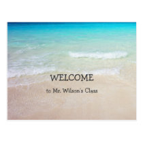 Ocean Beach Welcome Back to School Postcards