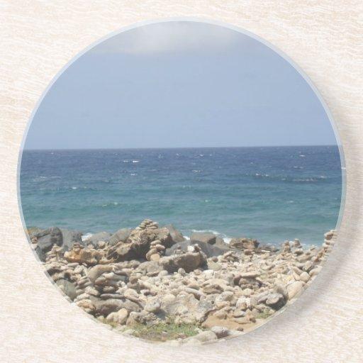 Ocean Beauty Beverage Coaster