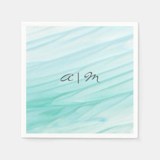Ocean Bliss | Watercolor Personalized Napkin