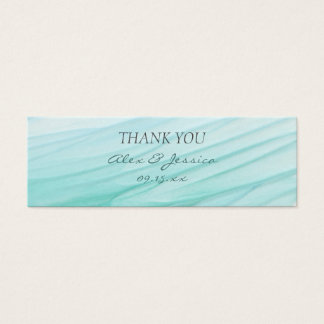 Ocean Bliss | Watercolor Wedding Gift Tag