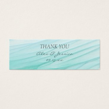 Beach Themed Ocean Bliss | Watercolor Wedding Gift Tag