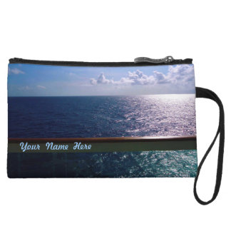 Ocean Blue BB2P Custom Wristlet