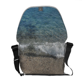 Ocean blue bolsas messenger